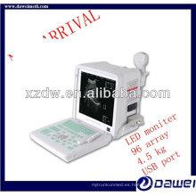 b / w escáner de ultrasonido portátil
