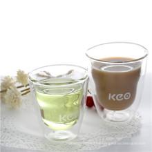 Hademade Clear Borosilicate Glass Coffee Mug