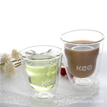 High quality factory for China Wholesale Double Wall Glass Coffee Cup,Handmade Glass Cup ,Coffee Cup Hademade Clear Borosilicate Glass Coffee Mug export to Lao People's Democratic Republic Factory