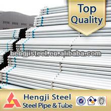 ERW construcción Q215 tubo de acero galvanizado