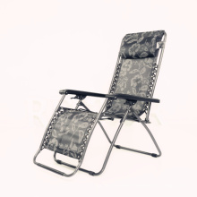 Outdoor portable zero gavrity folding chair for leisure time