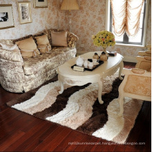 100% Polyester Fabric Silk Carpet Textile Flooring Mat