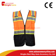 High Visibility Orange Safety Vest