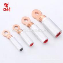Bimetallische Kräuselungs-Muffe-Kabel-Endanschluß der elektrischen Leistung runde Palme DTL-2-16 mit Fett