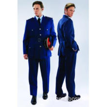 Protocol suit for winter navy blue