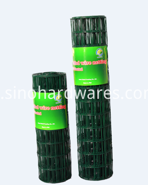 pvc welded wire netting