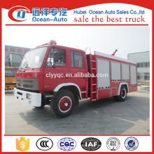 Coche de bomberos de la rueda 5cbm de Dongfeng 4500m m para la venta