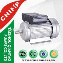 YL90S-2 / 2hp / 2 polos de cobre del condensador de alambre de cobre arranque inducción monofásico motor eléctrico para ventilador