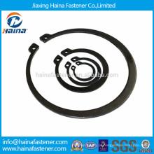 Anéis de retenção de aço carbono DIN471, anéis de retenção para o eixo JIS B 2804