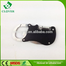 With mini flashlight bottle opener and keychain multi function tool knife