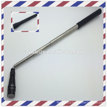 2015 flashlight with telescopic magnetic pick-up tool