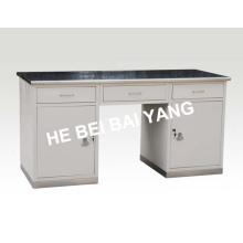 (C-58) Медицинский рабочий стол с поверхностью из нержавеющей стали
