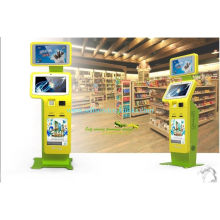 Innovative And Smart, Bar-code Scanner And Check Reader Interactive Information Kiosk