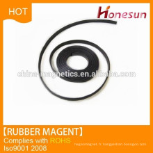 Isotropic Flexible magnetic rubber magnet strip for lifting used