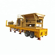 Mobile Stone Jaw Crusher Plant For Sale