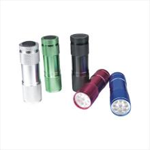 Dry Battery Aluminum LED Flashlight (CC-7001)