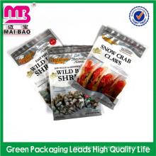 2014 горячие новые prooduct фольга mylar с кислородным барьером вакуумный мешок ziplock для упаковки еды море