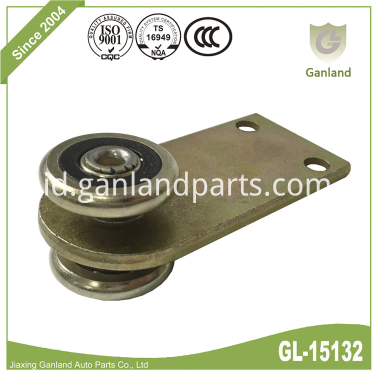 Steel Wheel Colored-plating Roller GL-15132