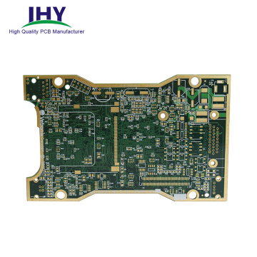 Placa de circuito high-density do PWB de 10 camadas ENIG