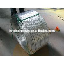 Tubos sin costura personalizados de aluminio con acabado de molino usados para aplicaciones industriales