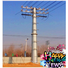 Q345B Polygonal Electric Power Steel Pole