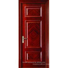 Pinturas del arte moderno acabado 3 paneles con puerta de madera del diseño del artesano del patrón de lujo