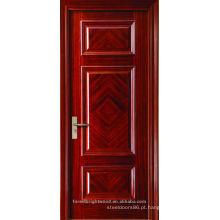 Pinturas de arte moderna terminou 3 painéis com porta de madeira de design fantasia artesão padrão
