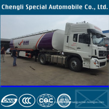 Aluminium Diesel Oil Fuel Tanker Transport Tank Truck Semi Trailer