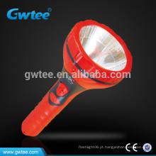 Luz de lanterna elétrica recarregável inteligente de alta potência