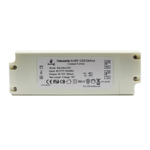 Fast delivery Constant current 900mA 0-10V dimmable 60w 50w led driver EU standard