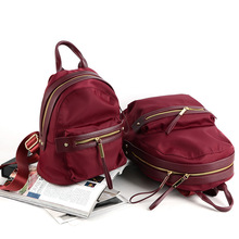 Cheap Burgundy Fashionable School Backpacks For Girls