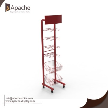metal wire display stand