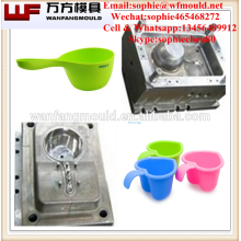 Household Plastic water ladle scoop injection mold Baby shampoo child bath scoop moulds making
