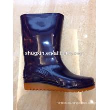 moda botas de lluvia de pvc