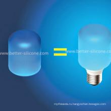 Красочные эластичные светодиодные силиконовые колбы колпачок