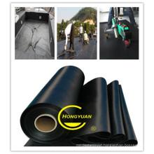 Black Seal Waterproofing EPDM Rubber Waterproof Membrane Rubber Waterstop