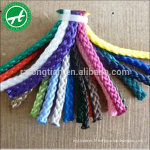 3/4 brins corde de pêche en nylon polypropylène (pp) 17mm