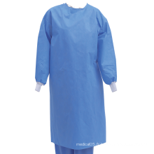 Robe d'opération chirurgicale non tissée jetable stérile