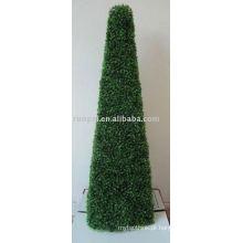 Planta de torre de grama artificial para decoração de jardim