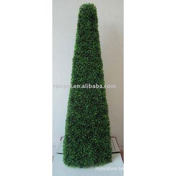 Artificial Grass Tower Plant For Garden Decoration