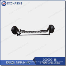 Genuine NHR NKR Front Axle Assy 300000118