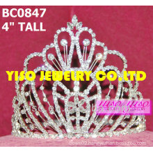 simple design beauty pageant crown