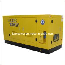 Дизельный генератор с открытой рамой Cummins мощностью 100 кВт