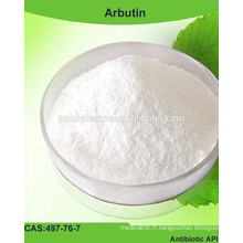 Prix de l'arbutine de l'usine / CAS NO.497-76-7 / acheter alpha arbutin / Fournir des matières premières cosmétiques / éclaircir la peau