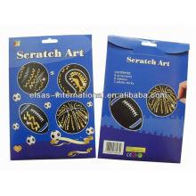 Scratch Art Paper / Scratch Off Karte / Rubbellose Preis