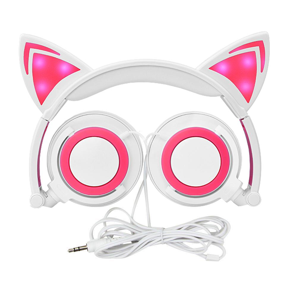 Cat ear headphone
