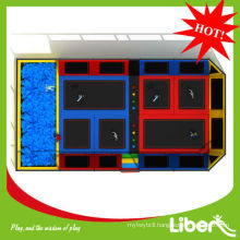 Top sale 14X8x4.5m Size kids indoor trampoline for Newzealand Customer