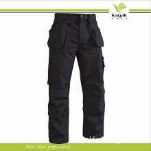 Industry Protective Canvas Cargo Workwear Trousers with Pad