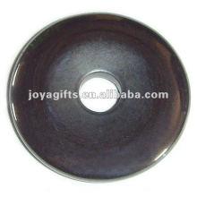 Hematite 30mm Coin Pendants