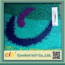 Jacquard jacquard Bus tissu tissu de tricotage